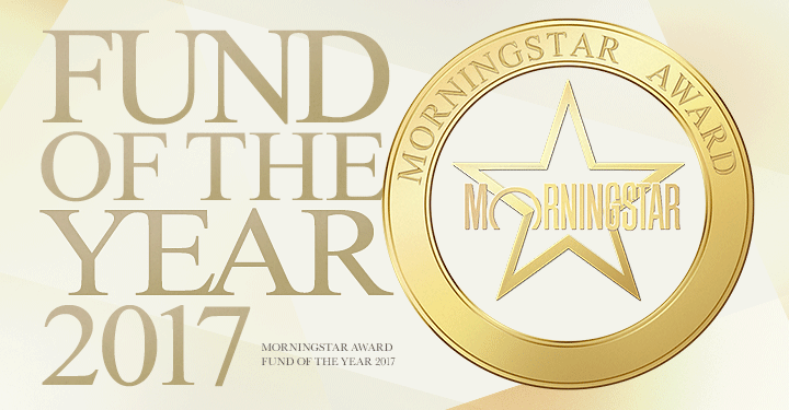 FUND OF THE YEAR 2017 MORNINGSTAR AWARD