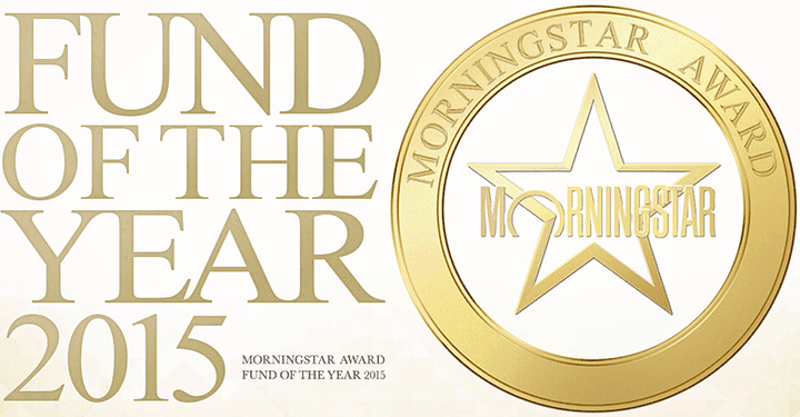 Fund of the Year2015 MORNINGSTAR AWARD FAND OF THE YEAR 2015